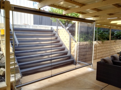 PVC VERANDAH BLINDS